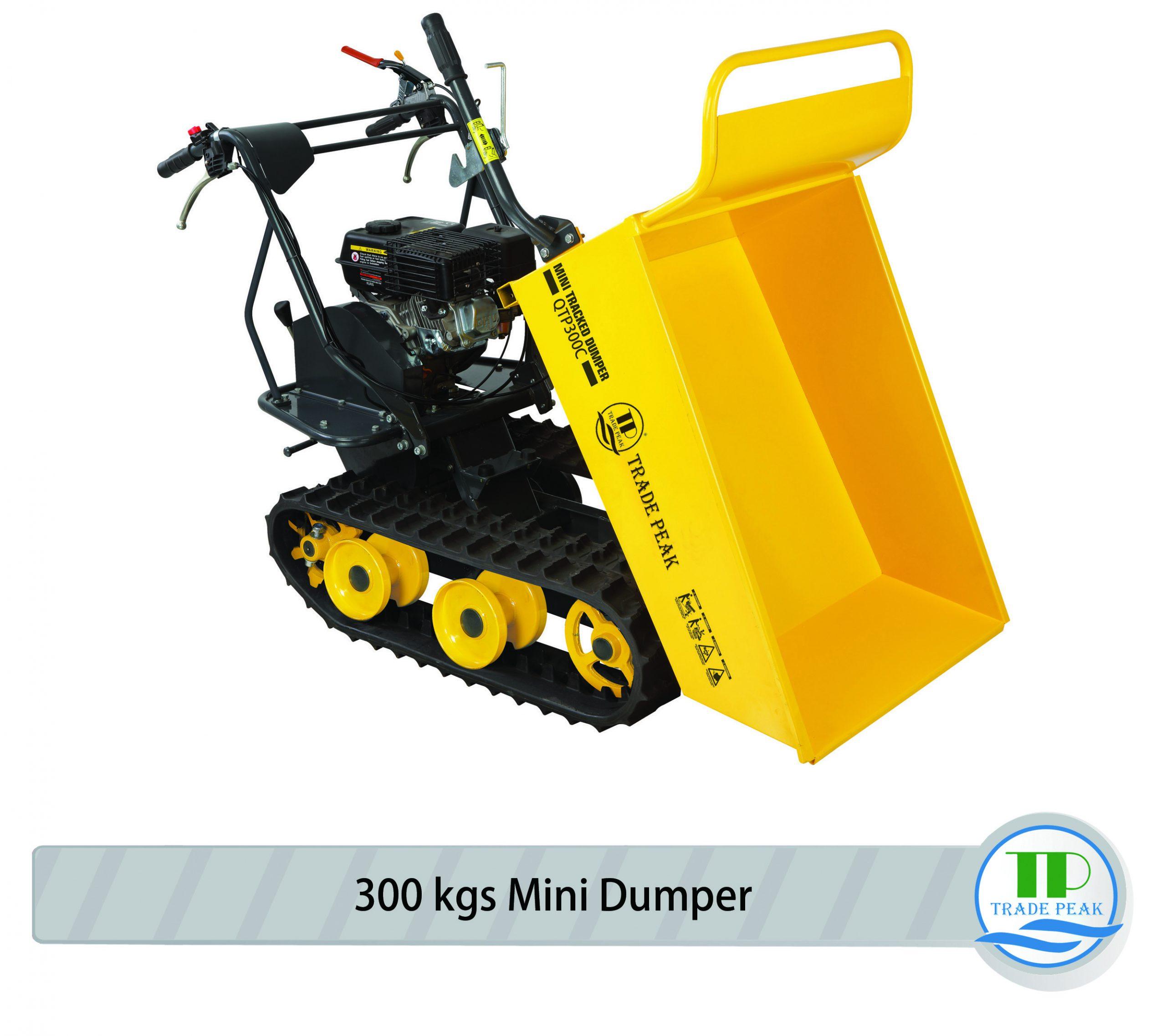 Tracked Dumper QTP300C