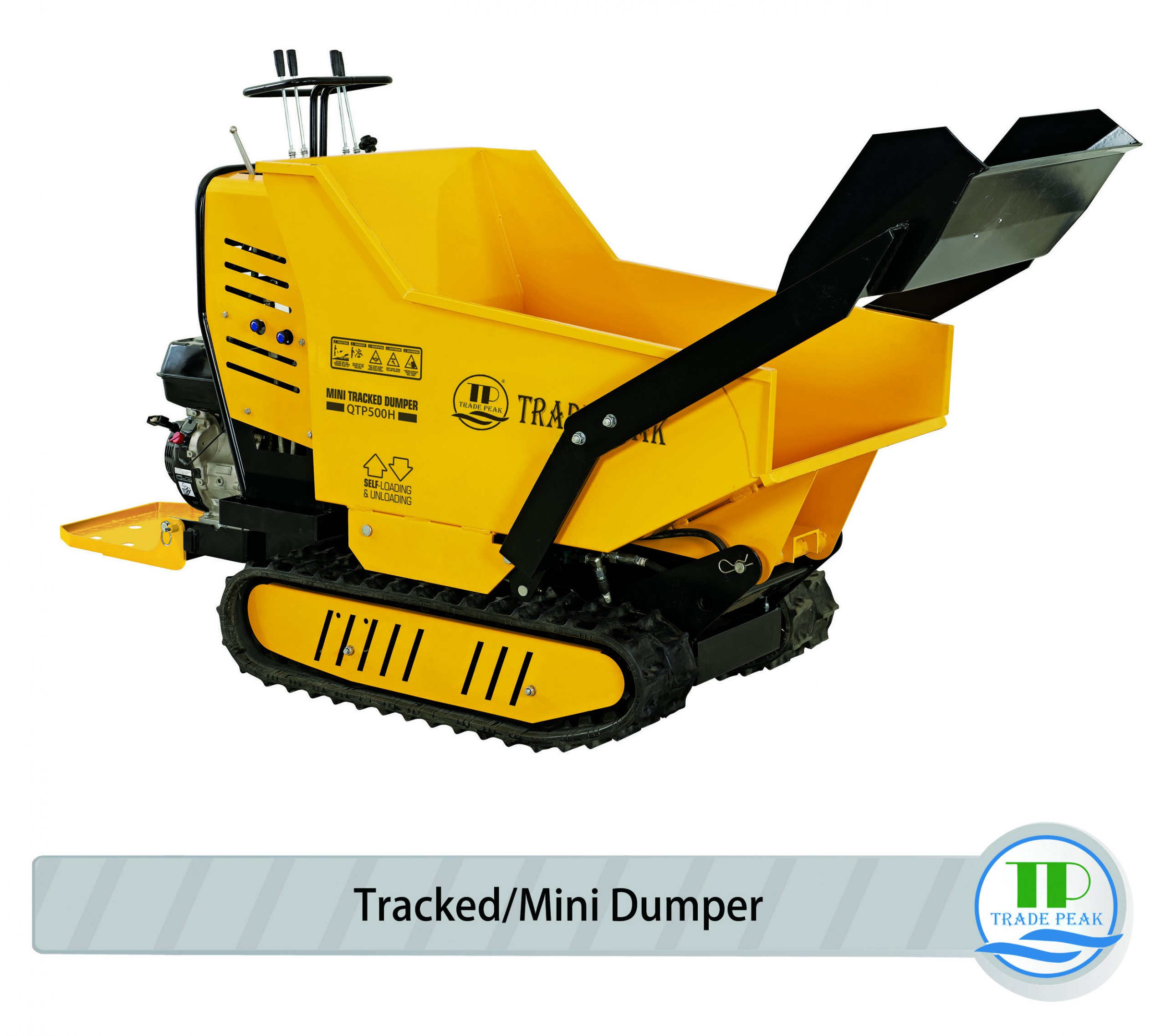 Hydraulic Mini Tracked Dumpers QTP500H