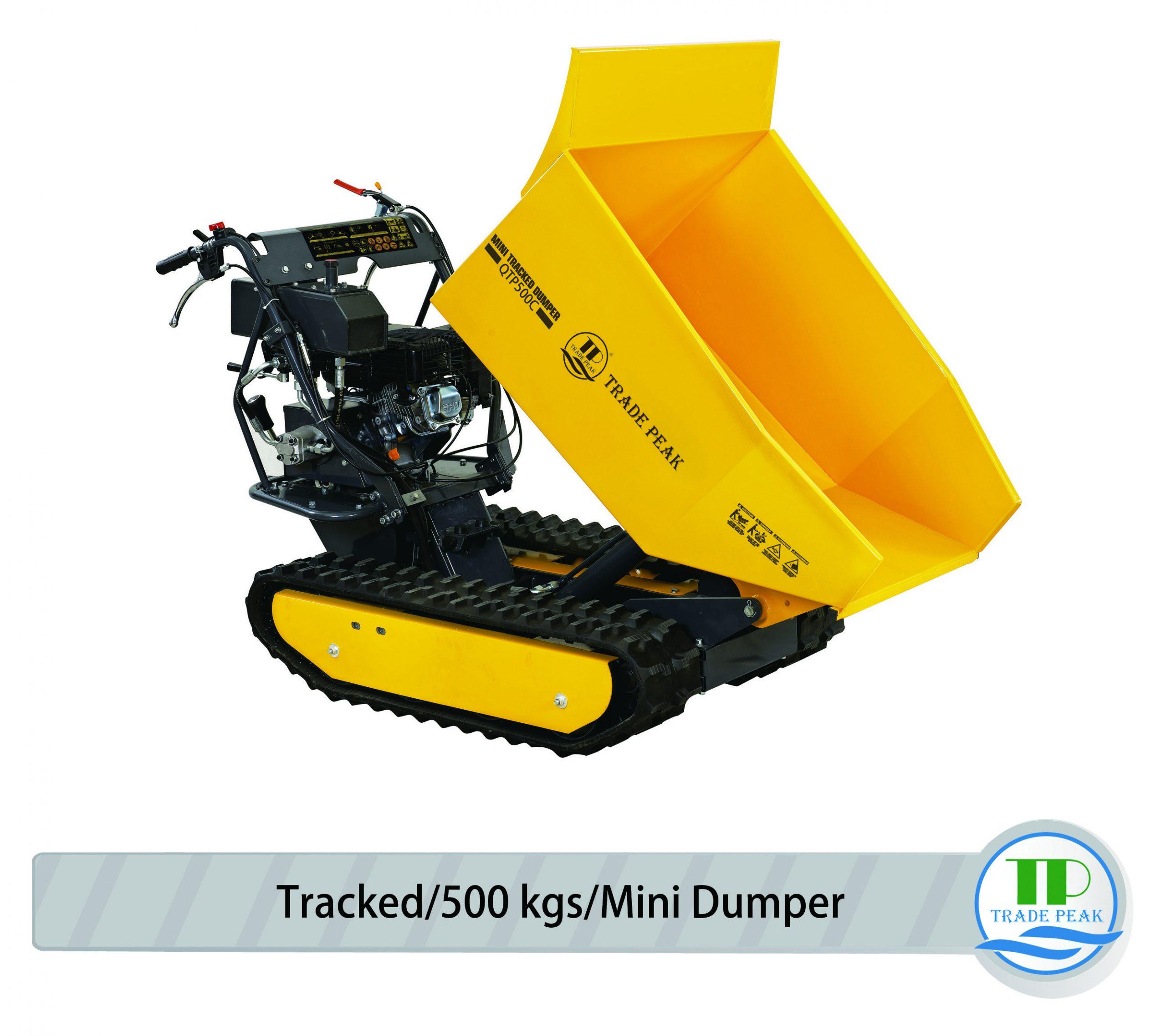 tracked mini dumper