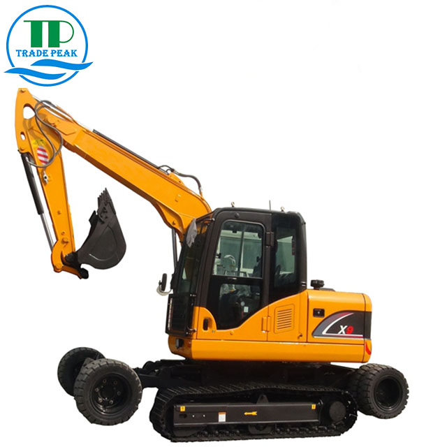 Hot Sales QTP X9 Wheel&crawler Excavator