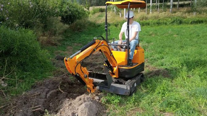 You Need A Mini Excavator In Your House Working