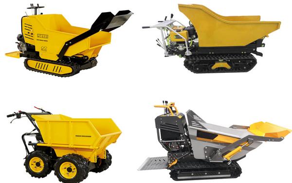 New Products – Hydraulic System Mini Dumper